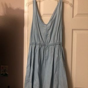 Light washed jean colored dress